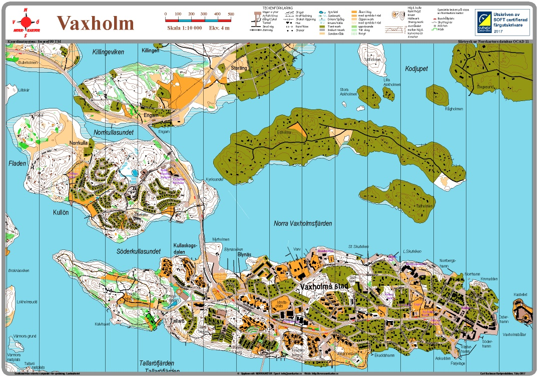 karta vaxholm skärgård