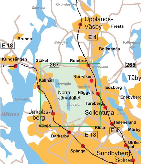 järvafältet karta Norrkartor   Försäljningsställen järvafältet karta